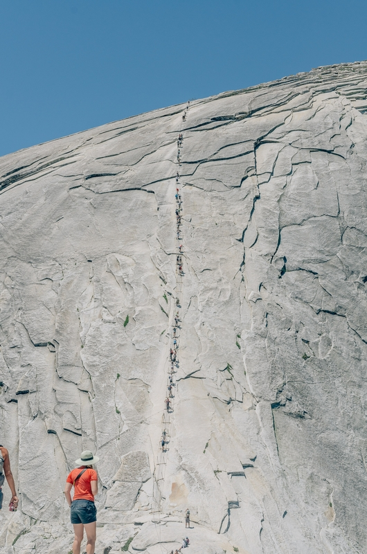 The Final Push Up Half Dome