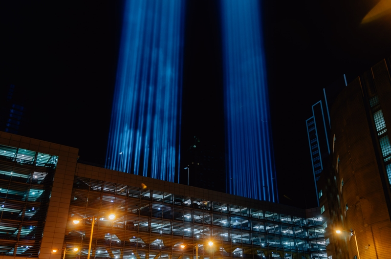 September 11 Tribute in Light - 2011-0912-_KPK0660