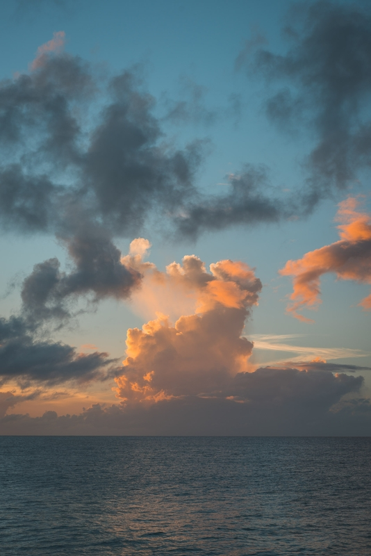 Second Sunset in Anguilla - Tall Part II