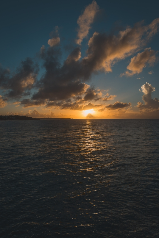 Second Sunset in Anguilla - Tall