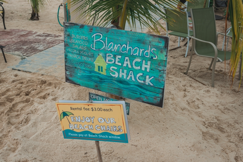 Lunch at Blanchard's Beach Shack