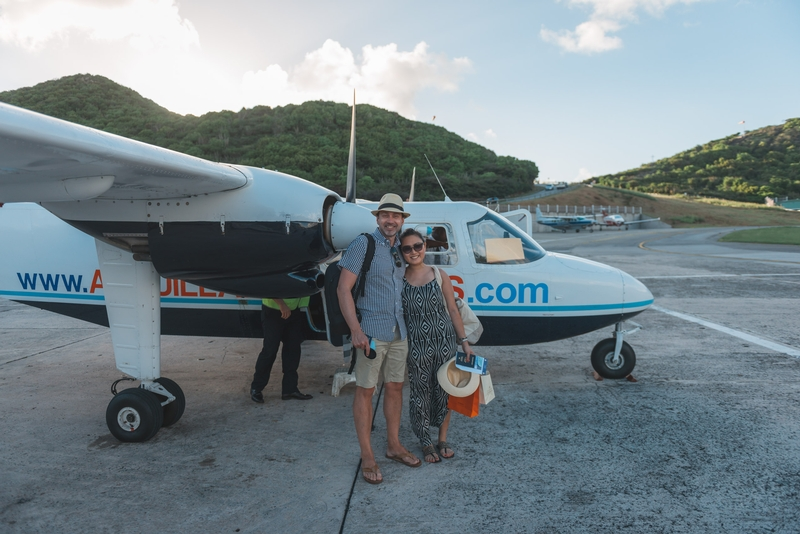 Our Ride Back to Anguilla