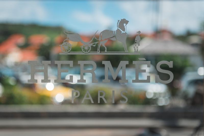 The Hermes Boutique in Gustavia