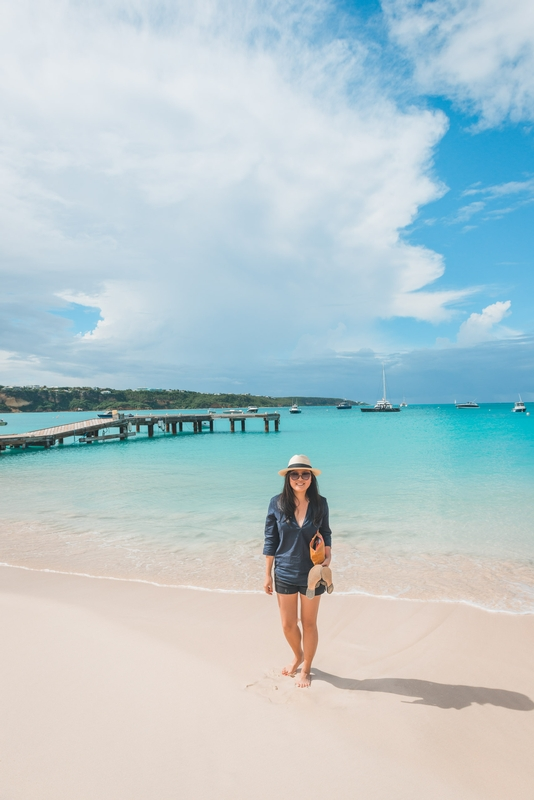Jessica at the PIer in Anguilla - Part II