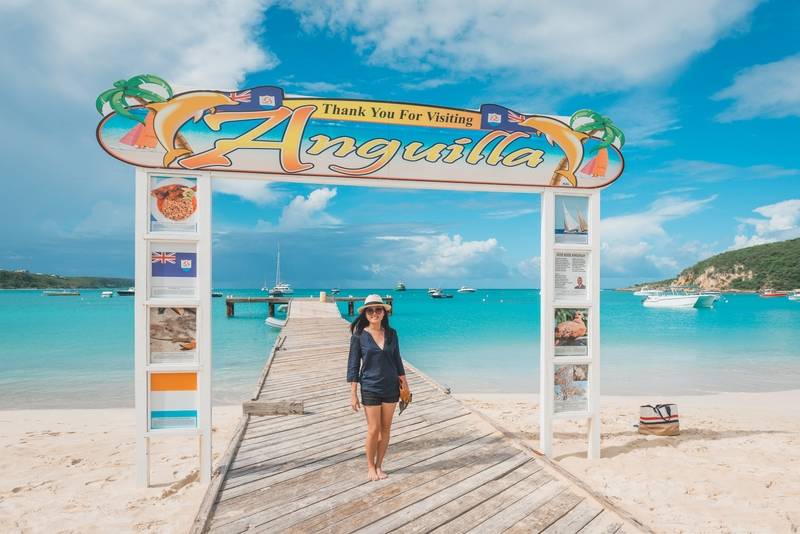The Anguilla PIer for the St. Maarten Ferry