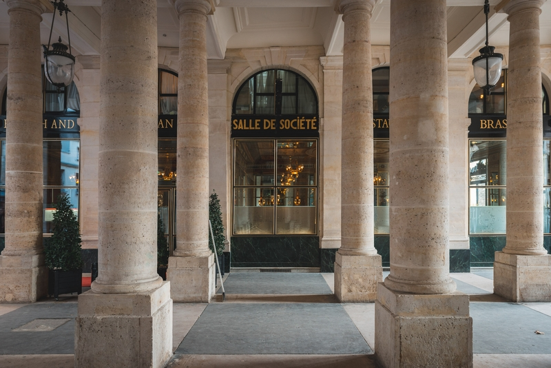 The Shops of the Palais Royale