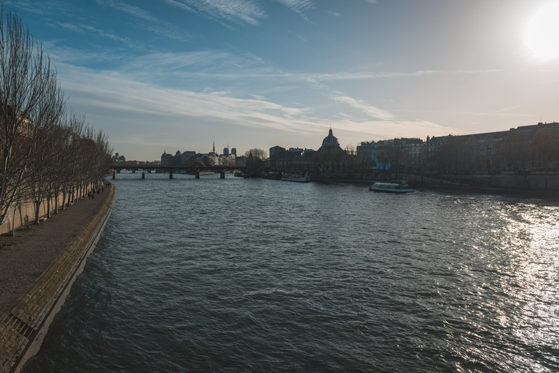 The Seine in the Late Afternoon