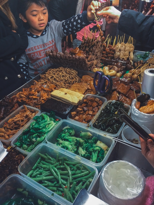 Snacks at the Night Market