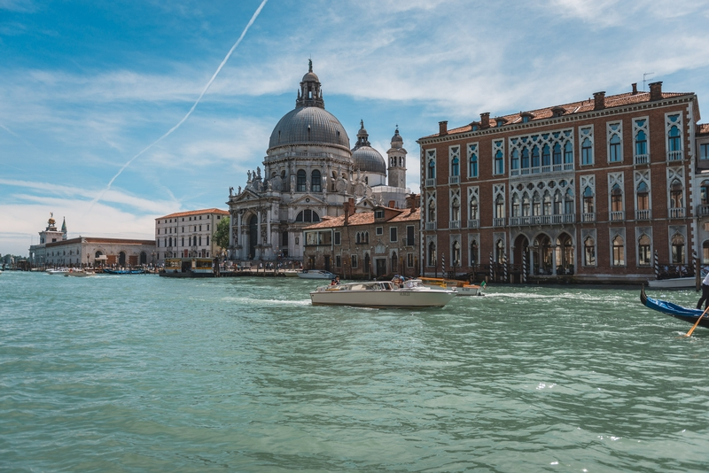 Looking Back Toward the Grand Canal