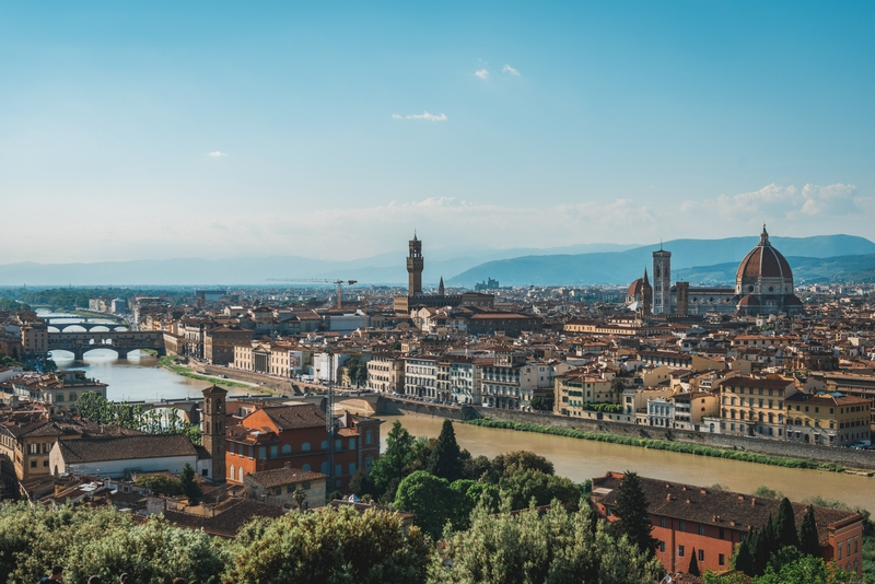 Overlooking All of Florence