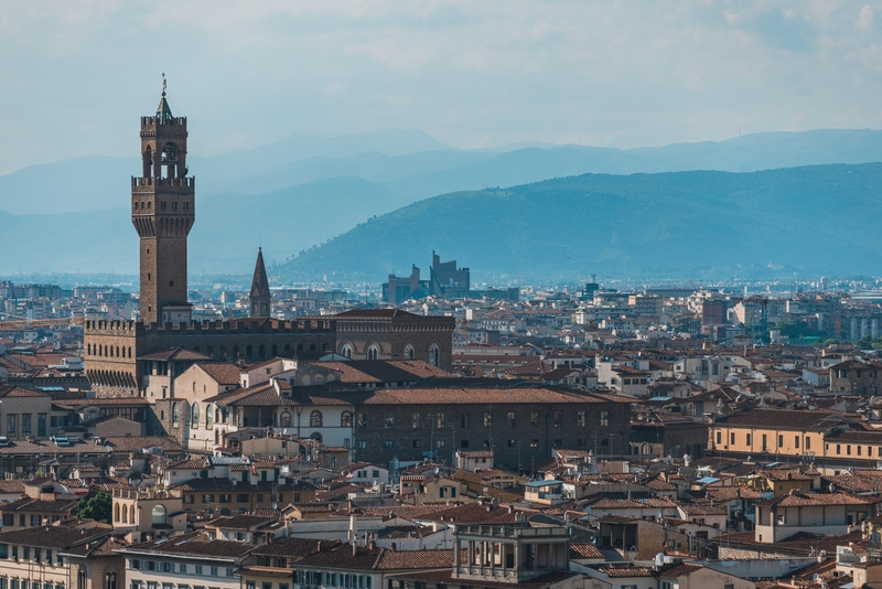 Overlooking Florence