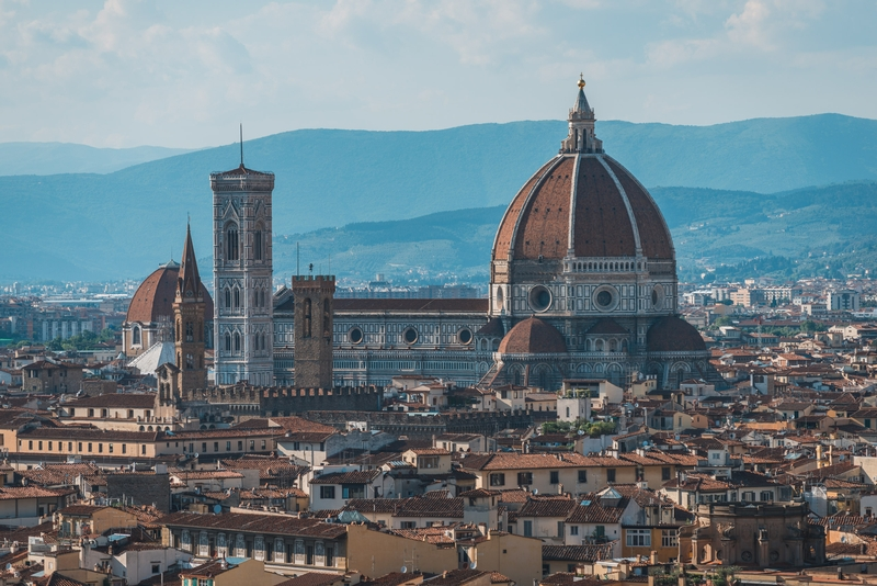 The Dome of the Florence Cathedral 2