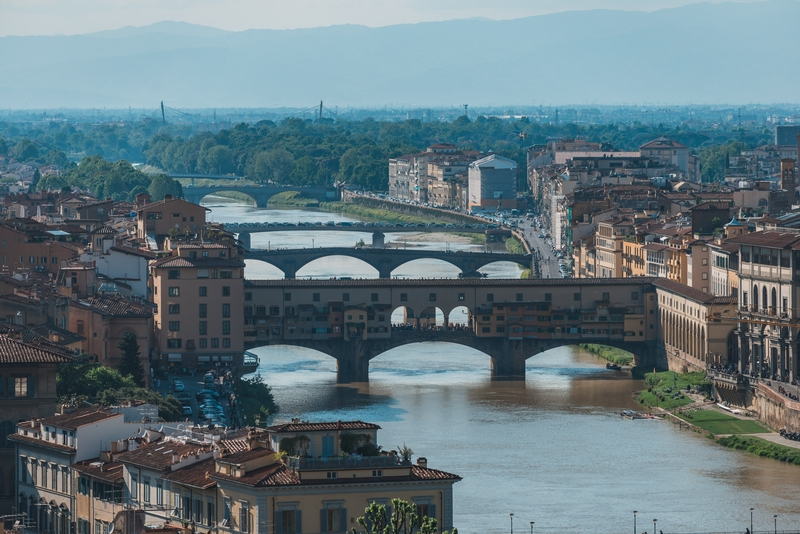 The Ponte Vecchio from Afar