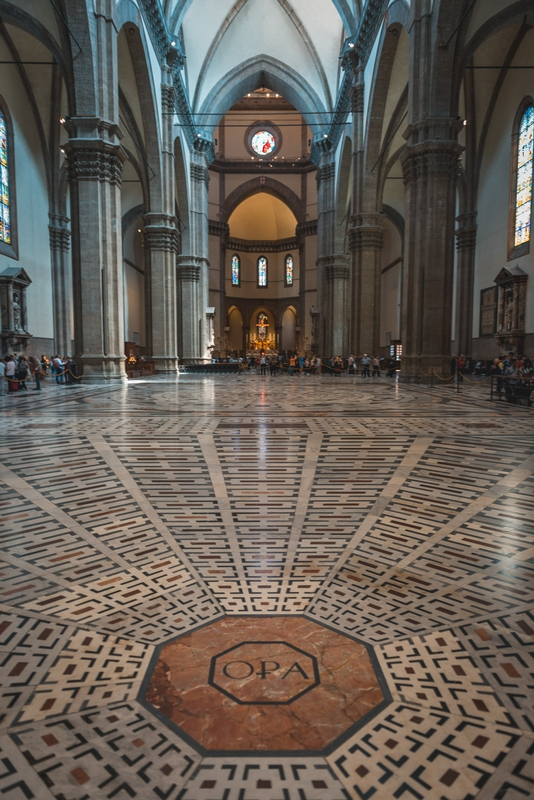 Inside the Florence Cathedral 2