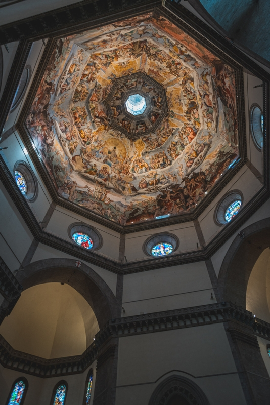 Inside the Florence Cathedral 3