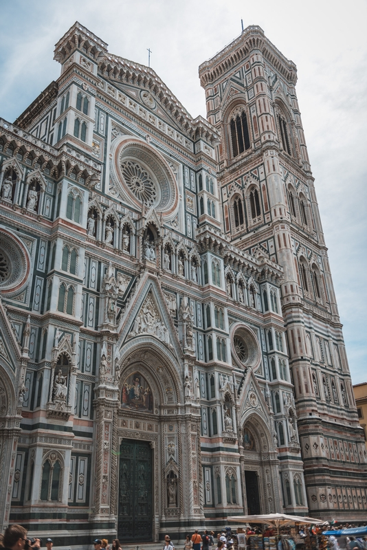 Outside the Florence Cathedral 3