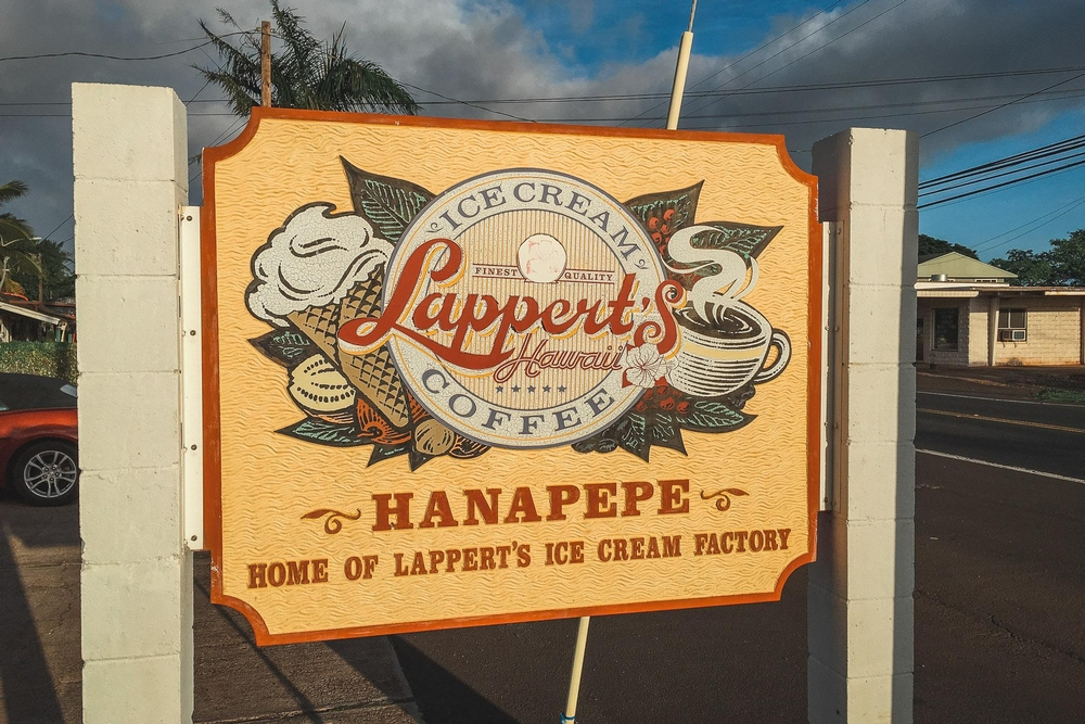 Home of Lapperts Ice Cream