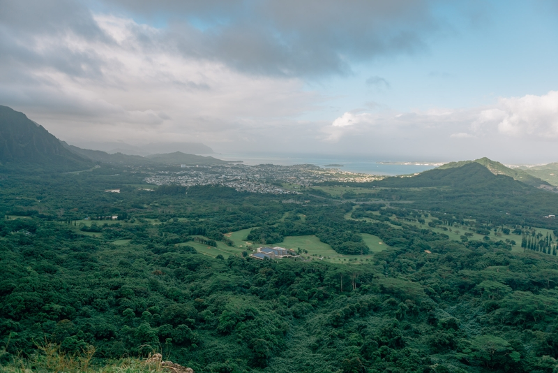 From the Nu'uanu Pali Lookout