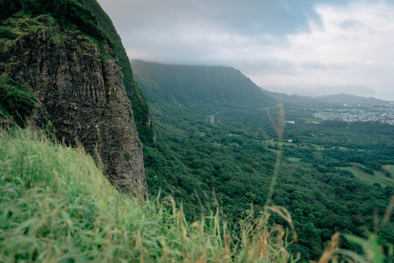 The View from the Nu'uanu Pali Lookout