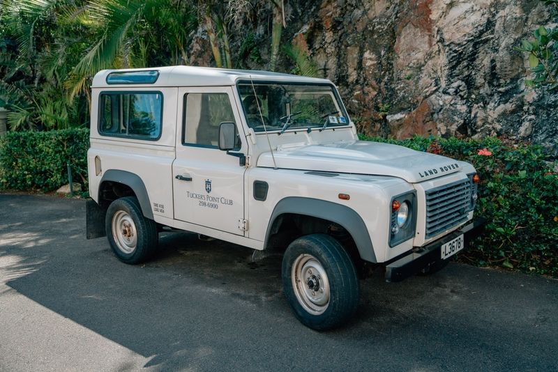 The Tucker's Point Land Rover
