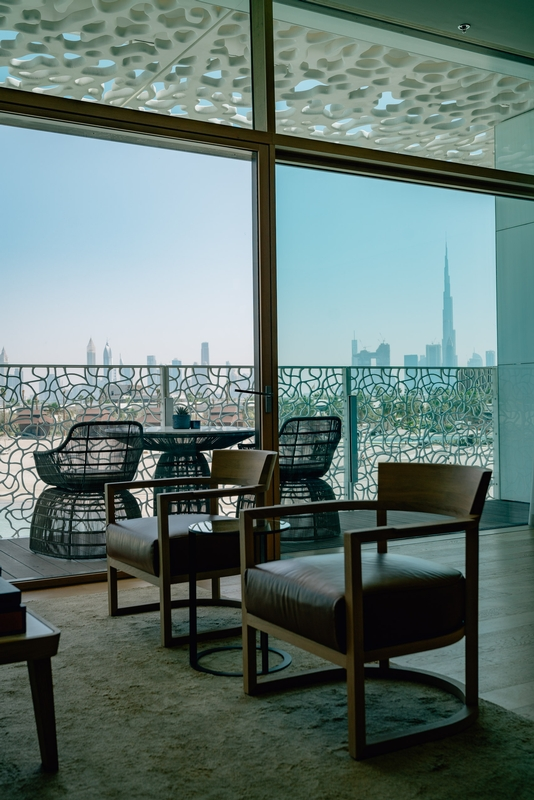 Our Room at the Bulgari Hotel Dubai