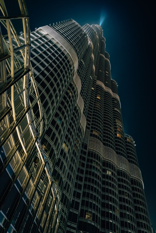 The Burj at Night