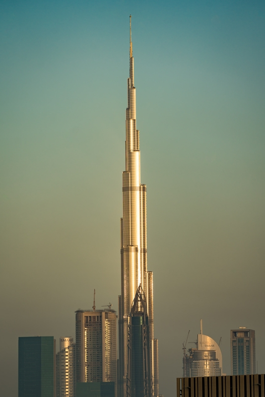 Burj in the Afternoon
