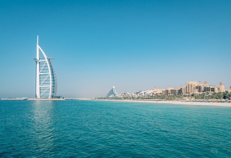 The Burj al Arab and the Shore