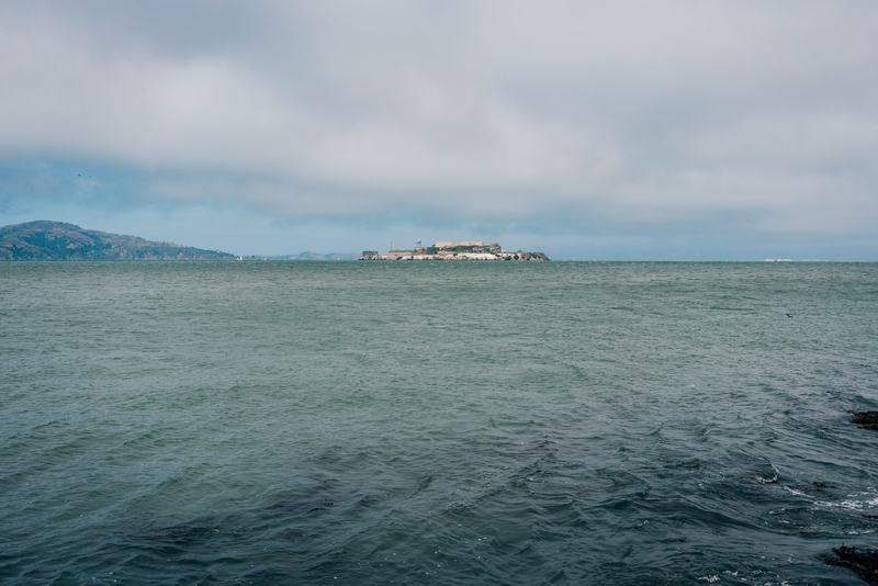 Alcatraz Island and San Francisco Bay