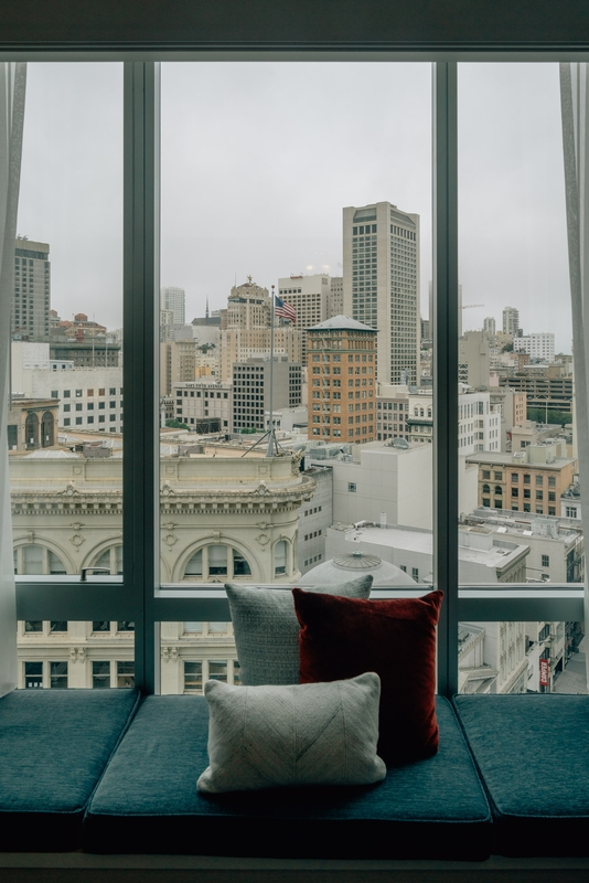 A Room with a View at the Four Seasons San Francisco