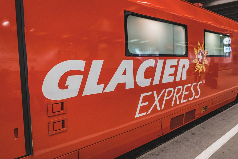 All Aboard the Glacier Express