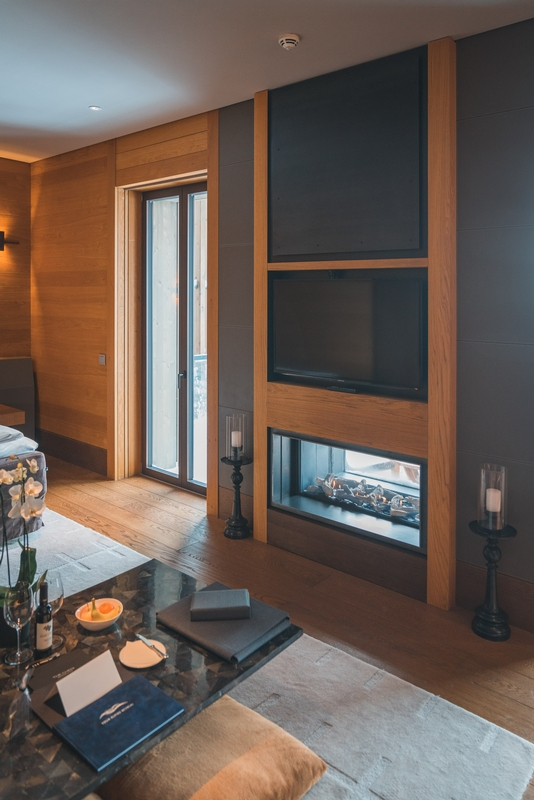 The Chedi Andermatt - Fireplace