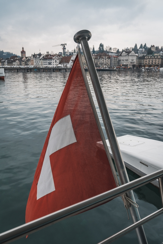 The Swiss Boat to Burgenstock