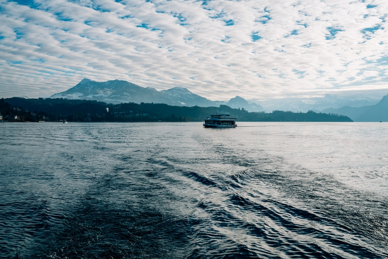 Looking Back across Lake Lucerne