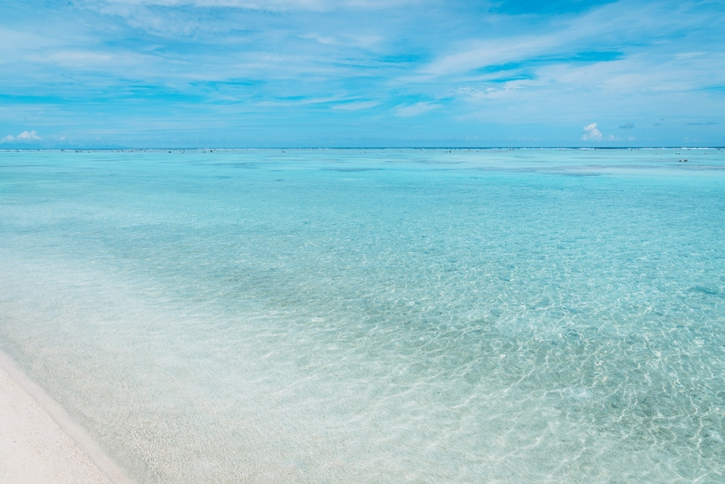 White Sands and Coral Seas