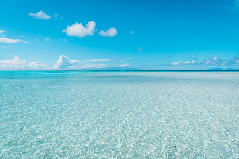 Clear Blue Waters all the Way to Tahiti