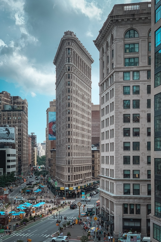 The Flatiron Building from Porcelanosa II