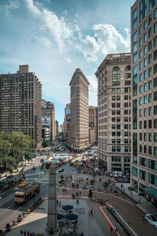 The Flatiron Building from Porcelanosa